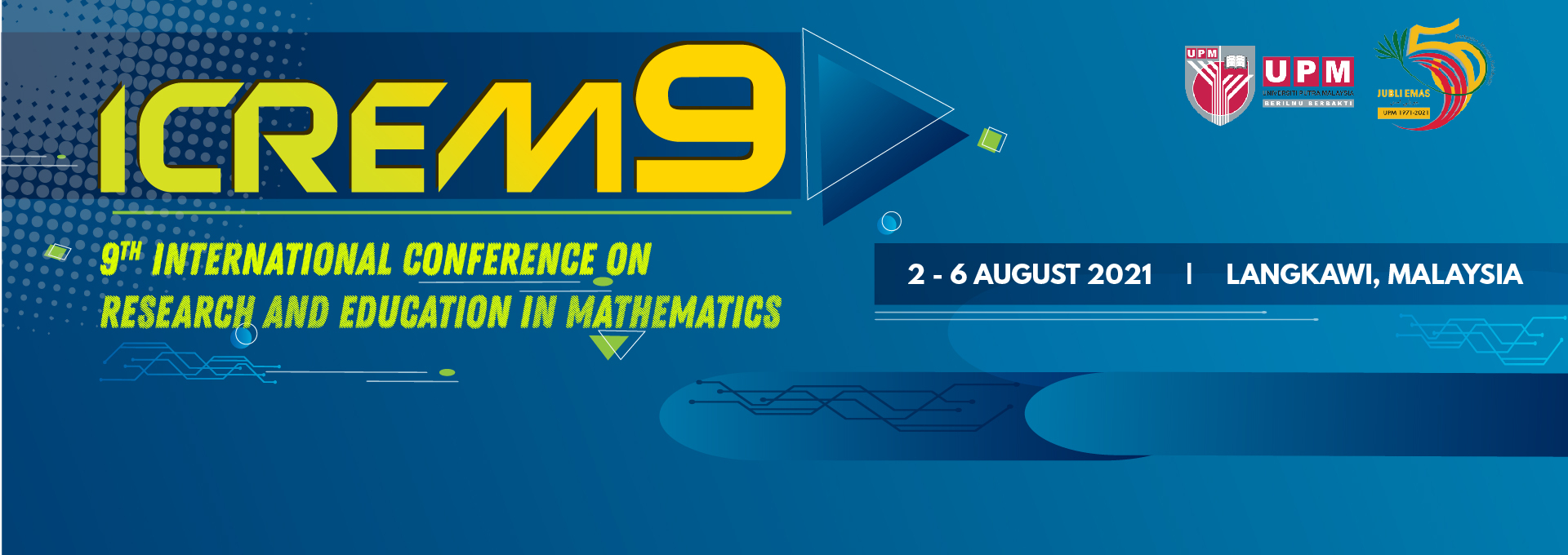 9th International Conference on Research and Education in Mathematics (ICREM9)